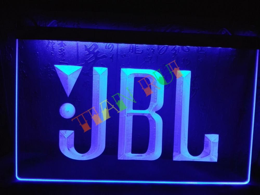 buy lg075 jbl audio car display bar led neon light sign home decor shop crafts. Black Bedroom Furniture Sets. Home Design Ideas