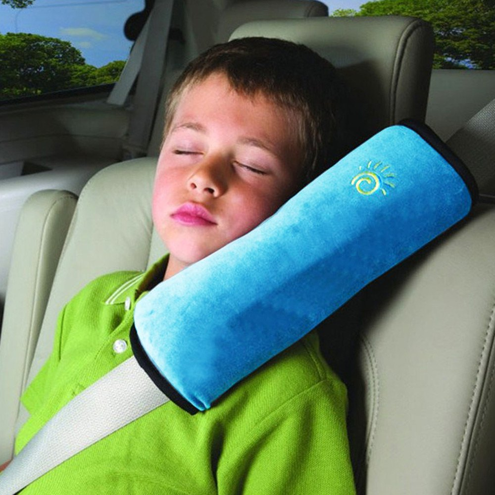 Baby Auto Pillow Car Covers Safety Belt Shoulder Pad Cover Vehicle Baby Car Seat Belt Cushion for Kids Children Car Styling(China (Mainland))