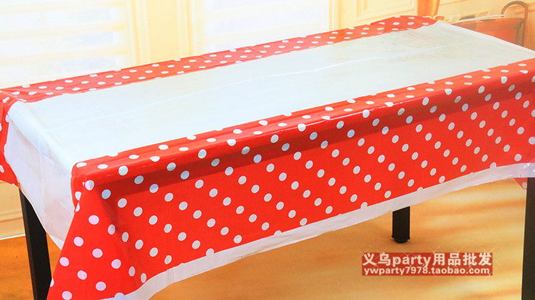 Lovely 108cm disposable Birthday tablecloth Cartoon kids happy birthday party plastic tablecover supplies(China (Mainland))