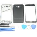 New Full Housing Case Cover For Samsung Galaxy J5 Middle Frame Bezel Chassis Back Cover Front