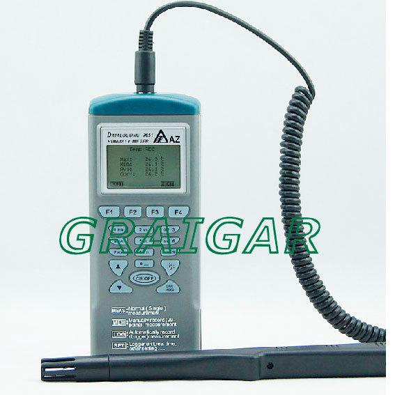 AZ9651 temperature and humidity loggers AZ-9651 hygrometer<br><br>Aliexpress