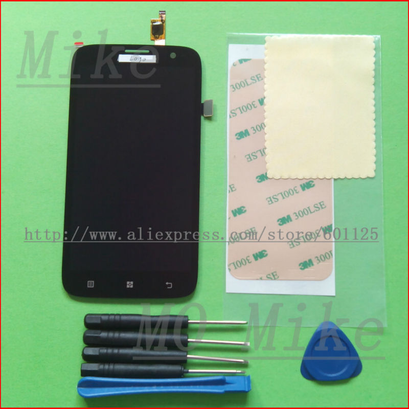 Full LCD Display + Touch Screen Digitizer Glass Panel Lens Lenovo A859 Black Replacement & Tools - mo mike's store