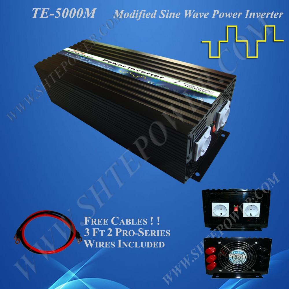 Best price 48v 240v inverter, modified sine wave 5000w micro power inverter(China (Mainland))
