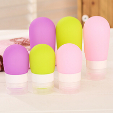 Empty Silicone Travel Packing Press Bottle for Lotion Shampoo Bath Container C6NC(China (Mainland))