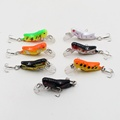Cheap 1PCS japan Artificial Minow 3D eyes with sharp hooks tool Fishing Lure Minnow Hard Bait Tackle Crank bait Free Shipping