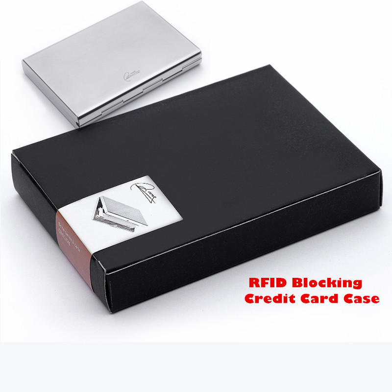 2015 Latest Stainless Steel Rfid Blocking Credit Card