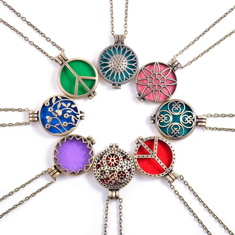 1Pc-Antique-Bronze-Color-Aromatherapy-Aroma-Essential-Oil-Perfume-Hollow-Locket-Diffuser-Pendant-Necklaces
