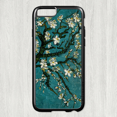 Gogh almond fashion original cell phone Case cover for iphone 6 6S 4.7 inch #P1900(China (Mainland))