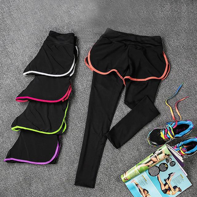 2016 новинка многоуровневая женщины спортивные леггинсы для юга кроссовки фитнес-одежды ...