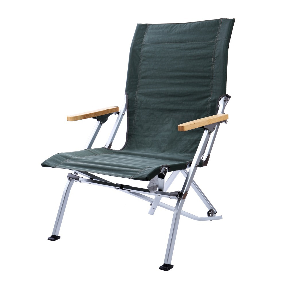1pc Camping Fishing Travel Picnic Blue Portable Folding Chair for Outdoor Eve
