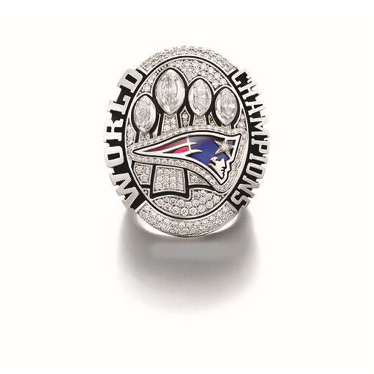 Daihe CR-20676 Replica 2015 New England Patriots Super Bowl XLIX Football Championship Ring, Sport Jewelry - Hand Make My Day store