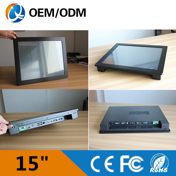 QYT Black 15inch New Intel 4790 CPU embedded PC, Nettop with RJ-45, Fanless, WiFi, tablet pc windows 8(China (Mainland))