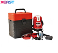 XEAST Professional laser level 5 lines 6 points dots laser level 360 rotary cross laser line