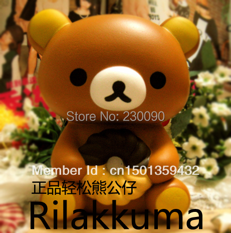 / lot ,13CM Big Rilakkuma doll ornaments original packaging,squishy doll, - Summerhot ZHANG's store