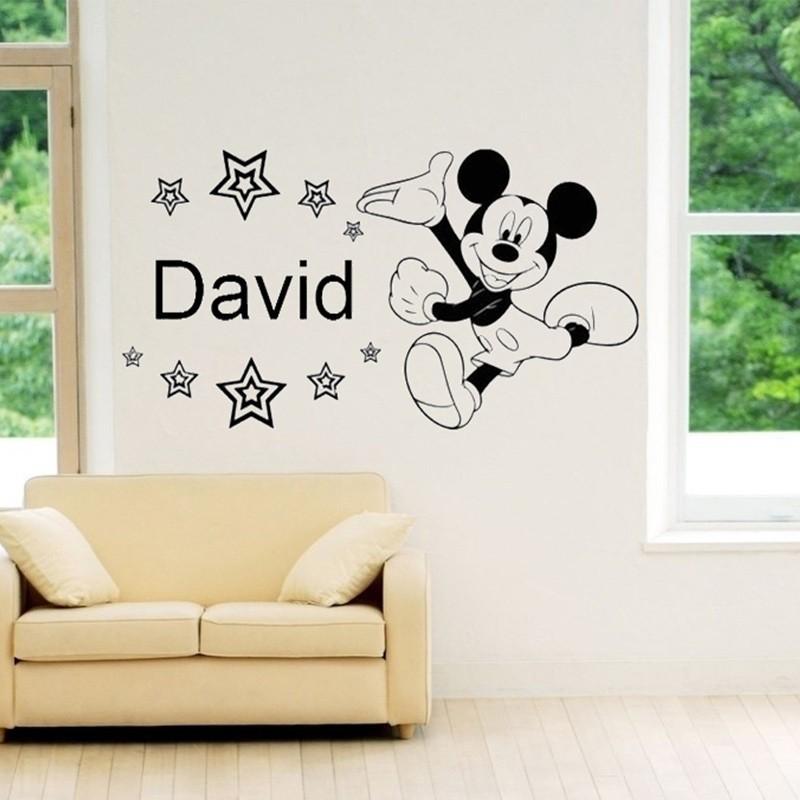 Mickey mouse pegatinas de pared compra lotes baratos de for Stickers pared baratos