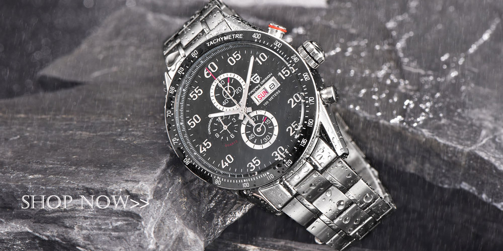 Men Chronograph Watches Top Brand Luxury Waterproof Quartz Watch Male Sport Military Men Wrist Watch Clock Male reloj hombre