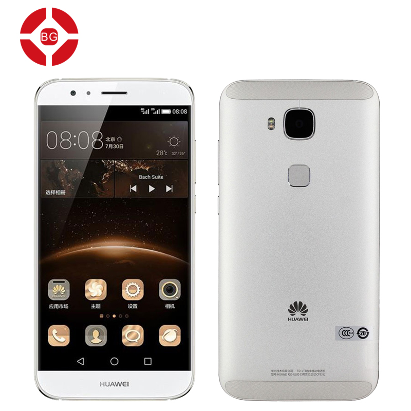 """Original Huawei G7 Plus 4G LTE Cell Phone 5.5"""" Octa Core Snapdragon 615 Android 5.1 2GB RAM 16GB ROM IPS 1920x1080 13.0MP Camera(China (Mainland))"""