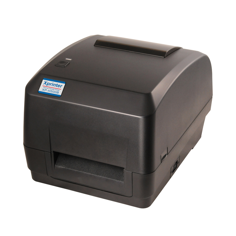 XP-H500B Direct thermal & thermal transfer label barcode printer 108mmsupport printing jewelry and Clothing tag etiqutadora