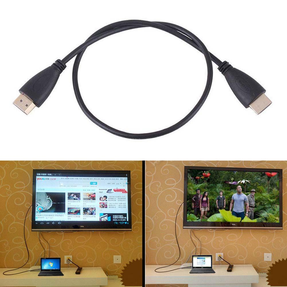 2016 1.6FT HDMI V1.4 AV Cord Cable HD 3D for BLURAY 3D DVD PS3 HDTV XBOX LCD(China (Mainland))