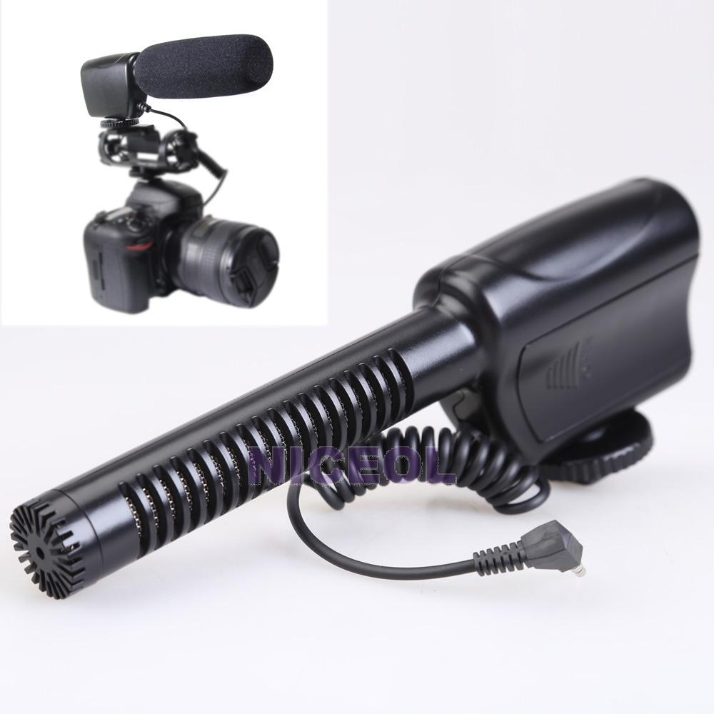 NI5L MIC121 Wired Stereo Video Microphone For DSLR Camera 5DIII D800 D7000<br><br>Aliexpress