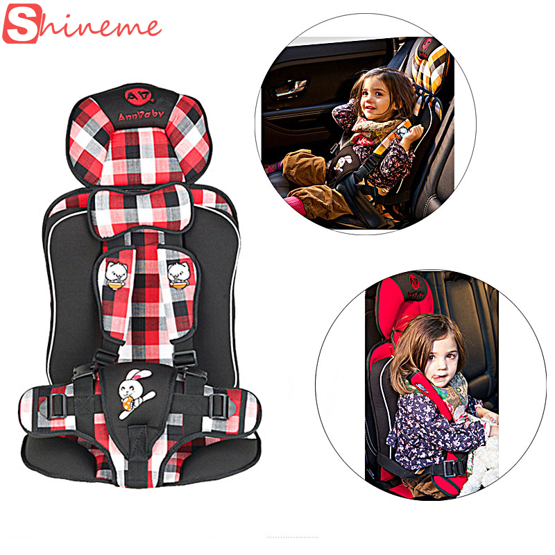 1-8 years brand portable universal child car safety seats kids baby car seat belt chair protection for children protector(China (Mainland))