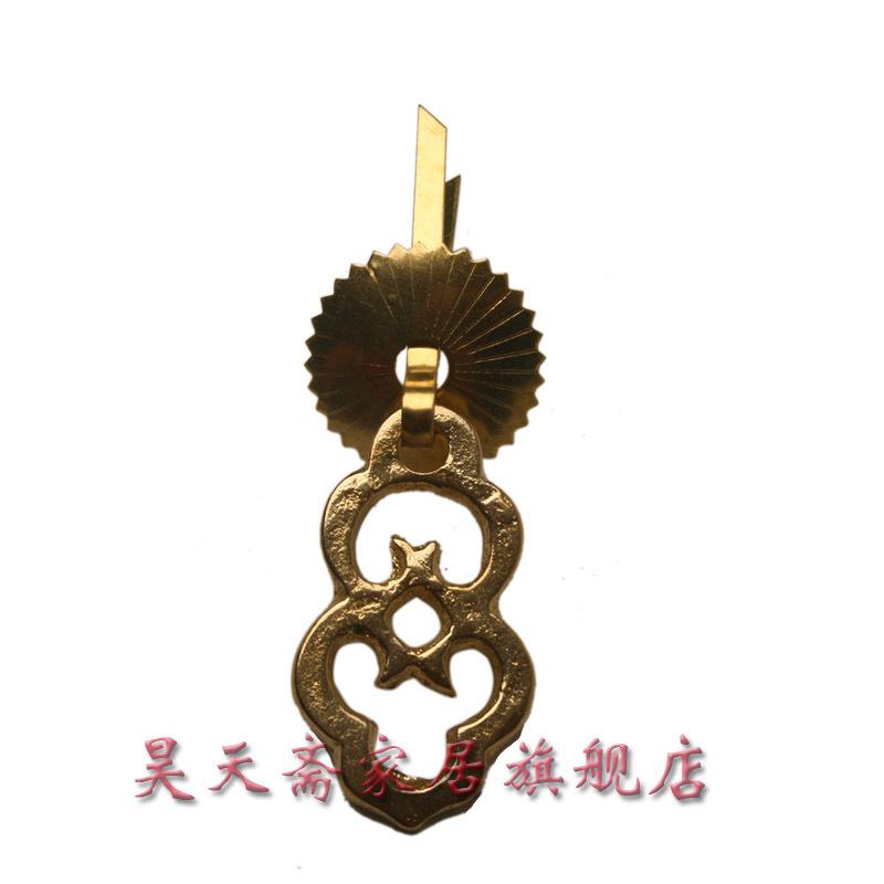 [Lent] Haotian copper drawer handle / cabinet handle copper / bronze handle / antique handle HTE-111<br><br>Aliexpress