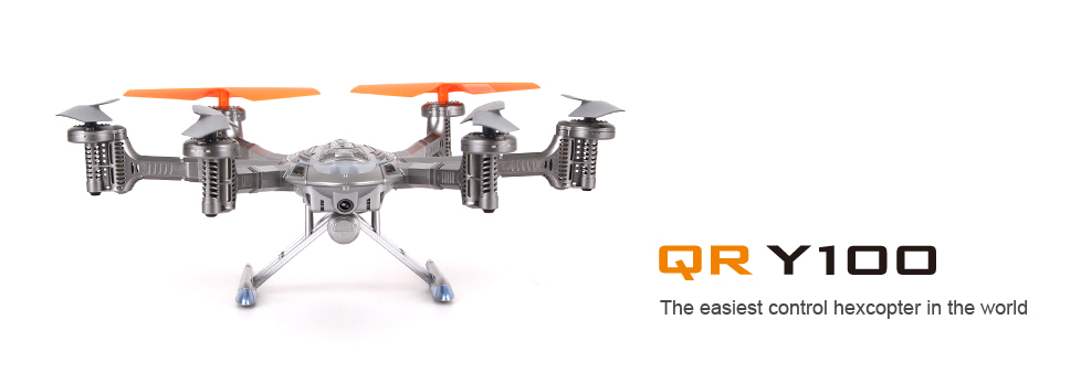 Get An Extra Battery Original Walkera QR Y100 5 8Ghz FPV Hexacopter Drone Helicopter with Camera