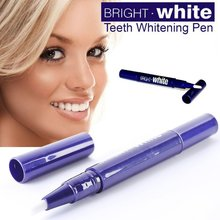 Tooth Gel Whitener Teeth Whitening Pen Bleaching System Stain Eraser Remove Instant 1 Pcs(China (Mainland))