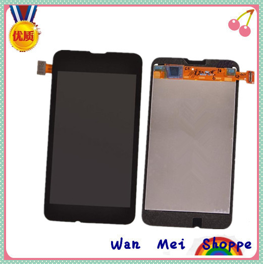Original For Nokia Lumia 530 Glass LCD Screen Display + Digitizer Assembly Touch Lens Panel