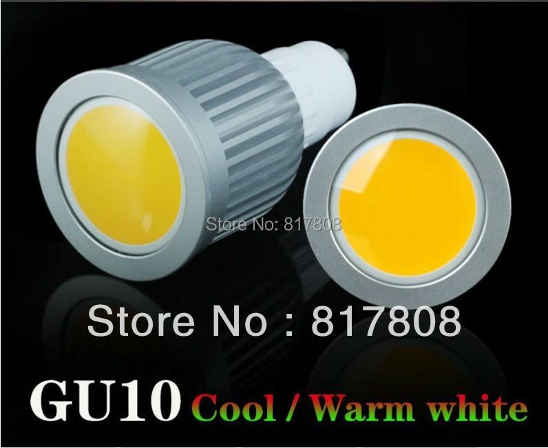 Wholesale Fast delivery LED Spotlight Bulb 10W 9W 7W COB GU10 E27 E14 Bulbs led lights AC85-265 Dimmable COB led lmap mr16(China (Mainland))