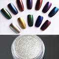 1g Box Gold Silver Nail Glitter Powder Shinning Mirror Eye Shadow Makeup Powder Dust Nail Art