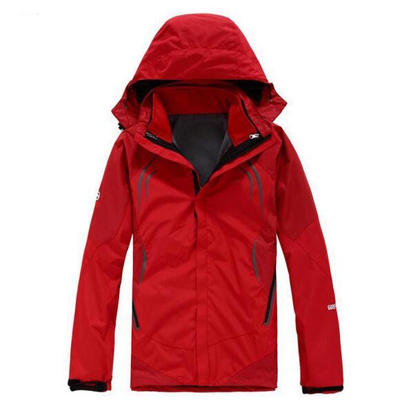 2016 Outdoor Skiing Winter Waterproof Skiing Snowboard Jacket Men Softshell Fleece Lining 2-Layer Warm Ski Snow Jacket Coat(China (Mainland))