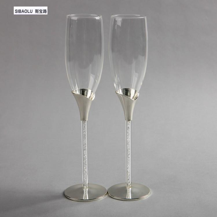 Popular decorative champagne flutes buy cheap decorative for Decorative wine glasses cheap