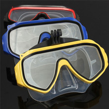 2016 New Arrival Best Price Diving Glasses Scuba Mask Mount Accessory For GoPro Hero 4 3 2 Camera Tempered(China (Mainland))