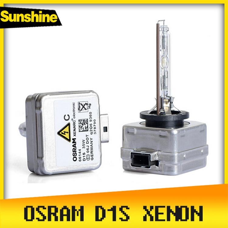 Car Xenon D1S 100% Genuine Of Osram 2 x D1S Car Headlight For Mercedes-Benz BMW Audi Porsche 4300k 5000K 6000K Xenon Bulb Lamp(China (Mainland))