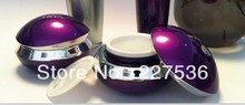 30g Beautiful Purple cream Jar Acrylic cosmetic bottles ,cosmetic packaging (China (Mainland))