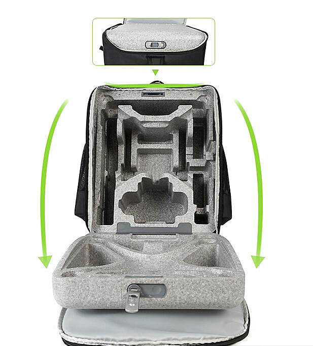 DJI Phantom 4 Carton Accessories no interior drone backpack waterproof liner without outsourcing