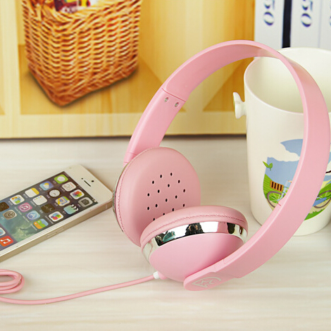 Y503 pure colors adjustable ecouteur stereo music headset cuffie wired over ear headphones for mp3 mp4 pc smartphones ear phones(China (Mainland))