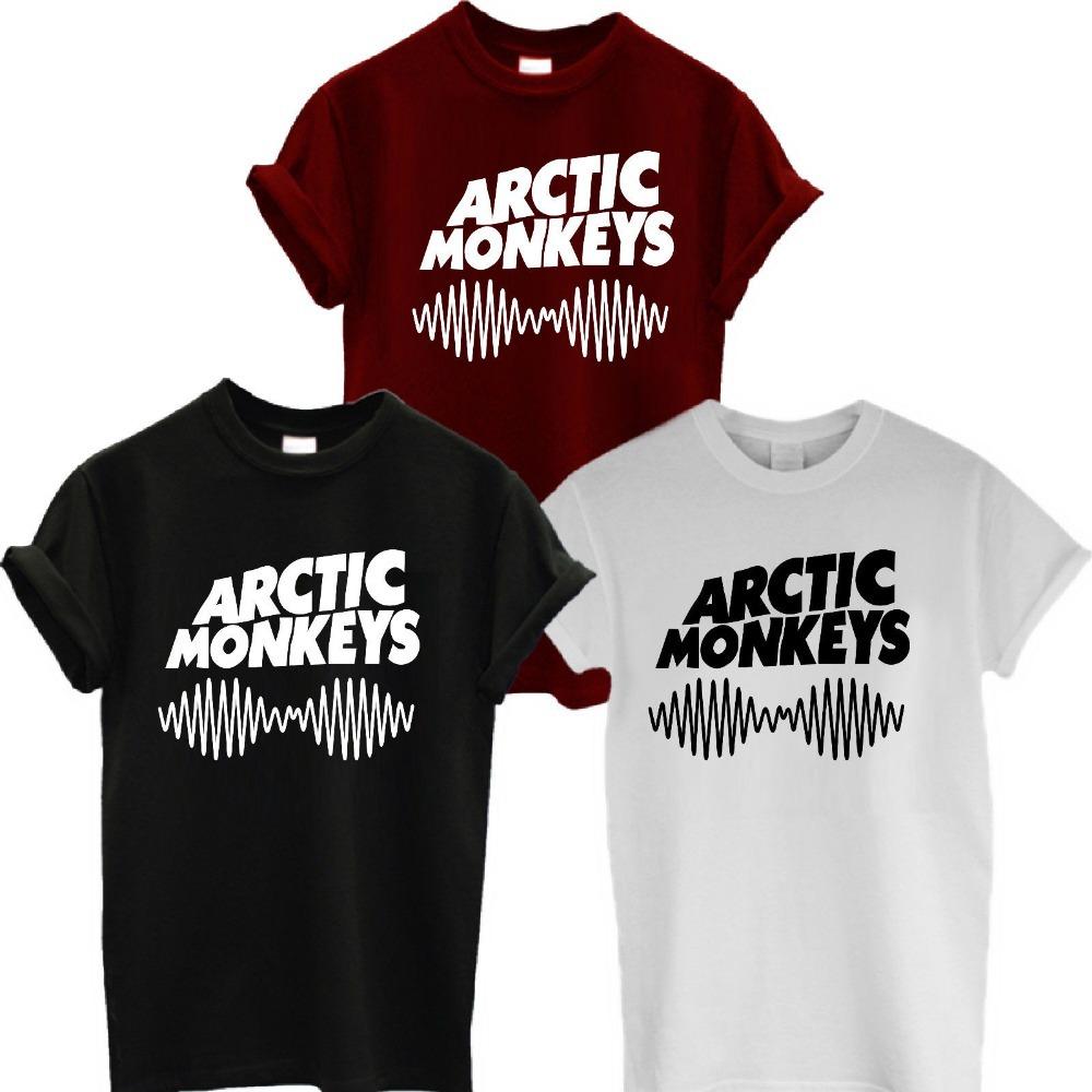 ARCTIC MONKEYS TSHIRT NEW ALBUM WOMENS MENS ROCK TEE T SHIRT MUSIC SWAG More Size and Colors(China (Mainland))