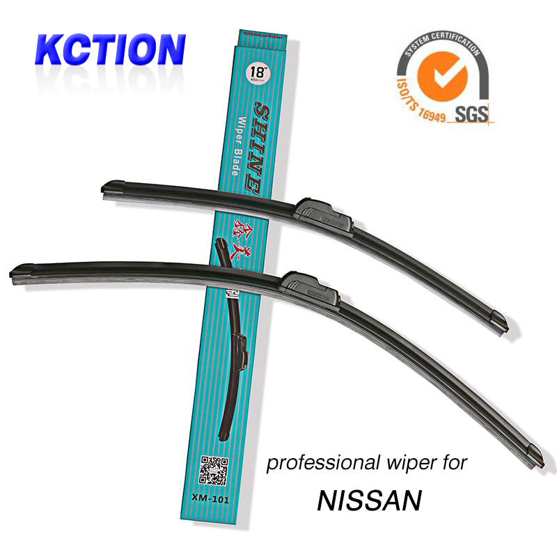Wiper Blade For Nissan U type models,for SYLPHY SUCCE Cedric Urban QASHQAI March Murano NV200 YUMSUN R50/D50 NOTE,Natural rubber(China (Mainland))