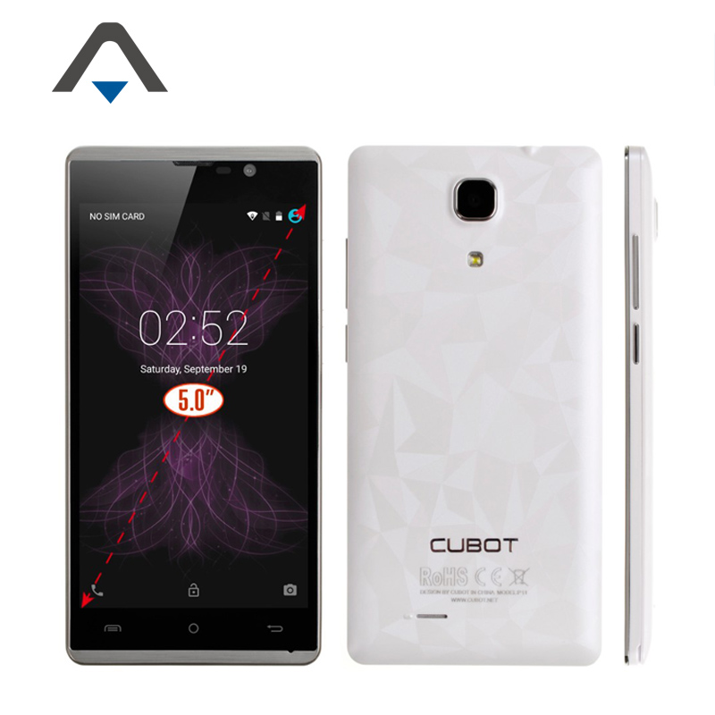"Original Cubot P11 5.0"" MTK6580 Quad Core CellpPhone 1280x720P 1G RAM 8G ROM 8.0MP Android 5.1 Dual SIM in stock(China (Mainland))"