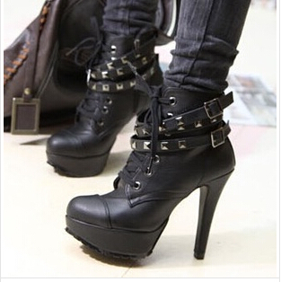combat boots with high heels | Gommap Blog