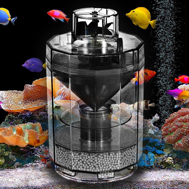 New triple forced suction fish tank water filter for 80cm for Outdoor fish tank filter