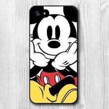 Чехол для iphone 4 4S 5 5S 5c 6 6 большой, милый микки мышь защитное жёсткая чехол для iPhone 6 6 большой 5 5S 4 4S 5C