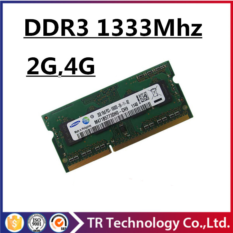 Sale ddr3 ram 4gb 2gb 1333Mhz pc3-10600 so-dimm laptop, memory ddr3 1333mhz 4gb pc3 10600 sdram notebook, ddr3 1333mhz 4gb dimm(China (Mainland))