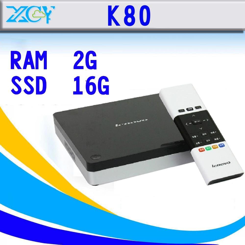 Фотография new arrival Original  K80 2g ram 16g ssd TV box CE4157DS SoC Smart TV Media Player with Remote Controller HTPC