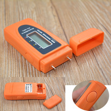 Mini 2Pins LCD Wood Bamboo Cotton Moisture Meter Tester Timber Damp Detector MD816