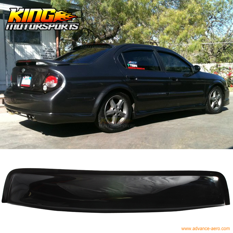Fit For 00 01 02 03 Nissan Maxima A33 OE Style 4Dr Sedan ABS Rear Window Visor(China (Mainland))