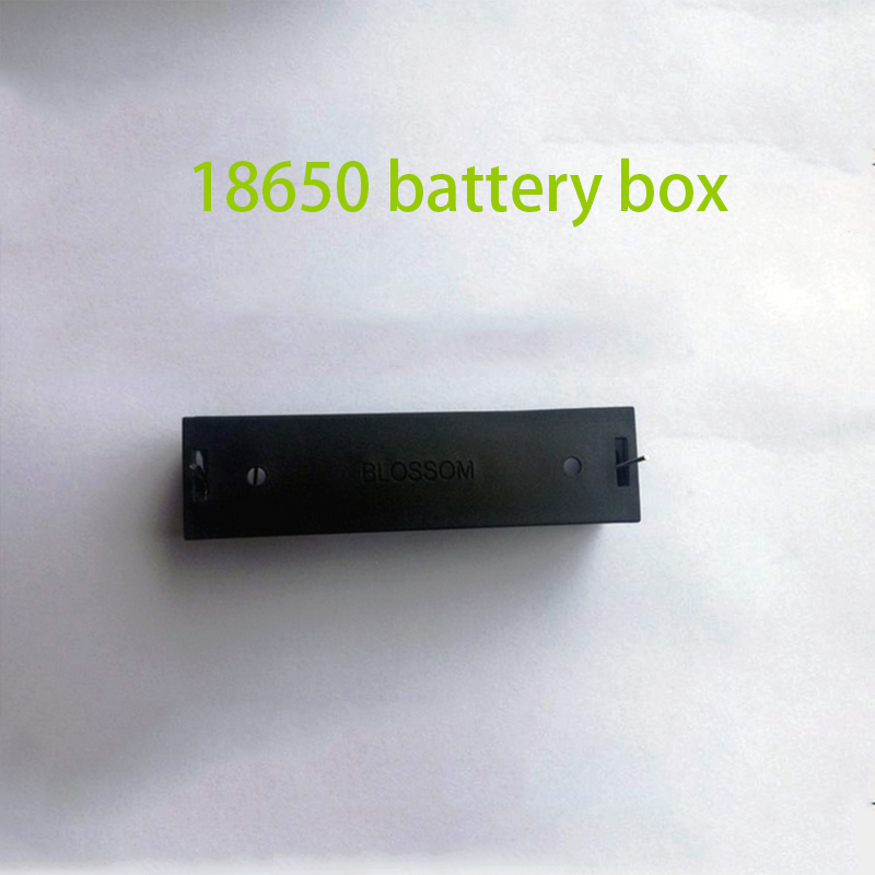 100pcs Plastic 18650Battery Holder For 18650 Batteries With Protection Board 3.7V Battery Clip Slot Storage Holder Box Wire Lead<br>