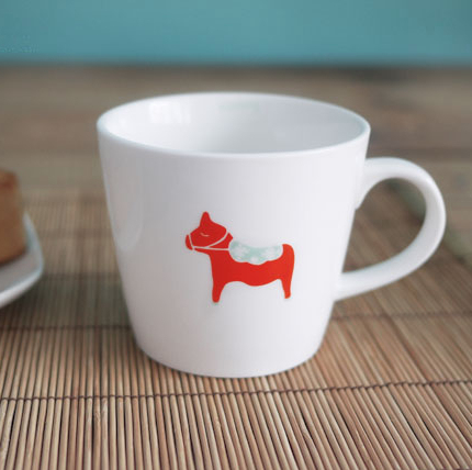 Zakka circus series ceramic cup coffee cup mug milk cup free air mail
